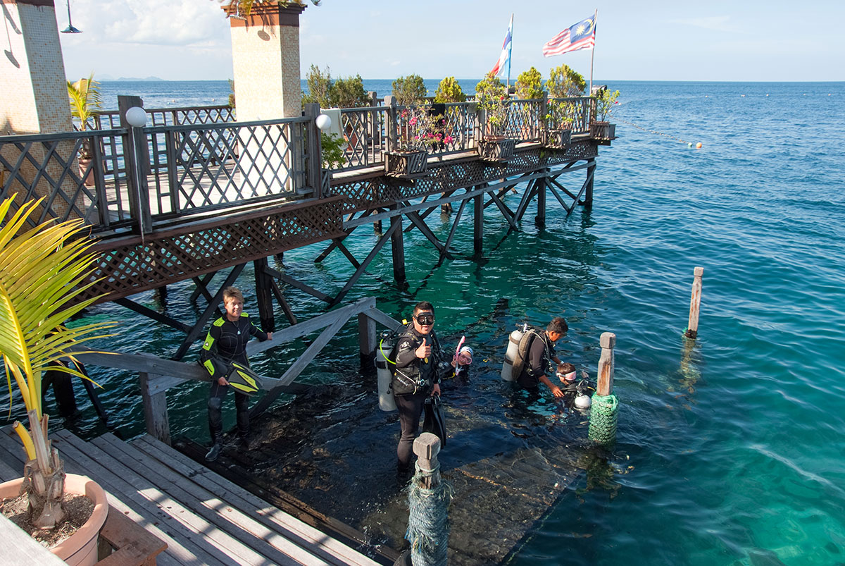 Jetty to House Reef