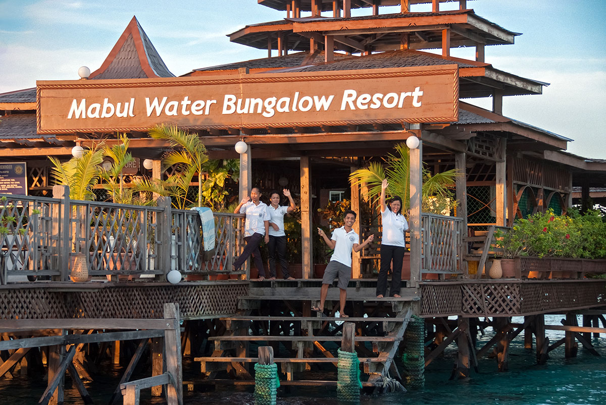 Waterbungalows Jetty